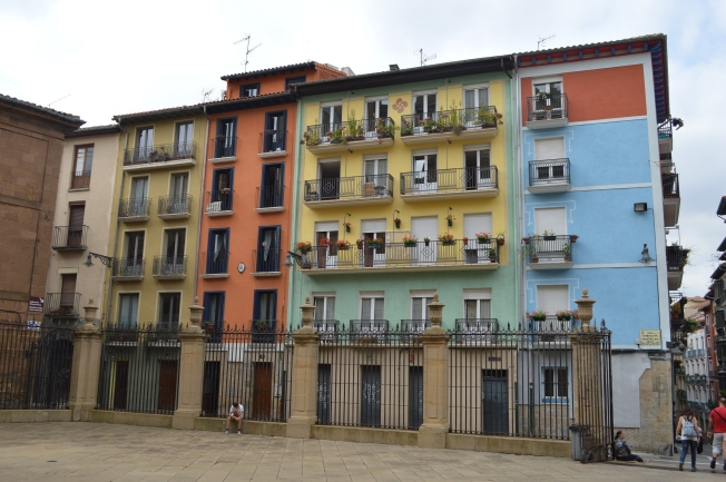 Charming buildings in the Casco Viejo