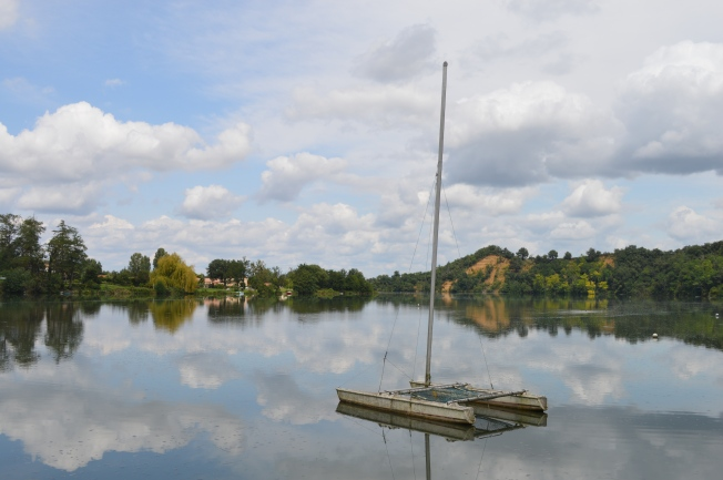 The Lovely Plan d'eau at Rieux-Volvestre