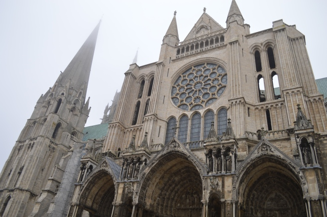 Stunning Chartres Cathedral