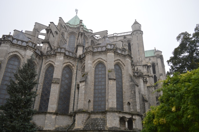 Flamboyant flying buttresses