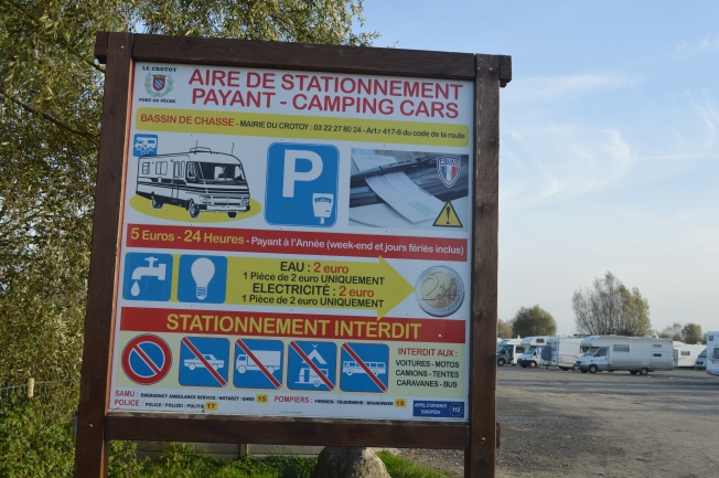 I so would like to see this kind of thing in the UK!  Stopping places just for motorhomes