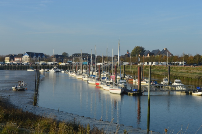 Marina by motorhome aire
