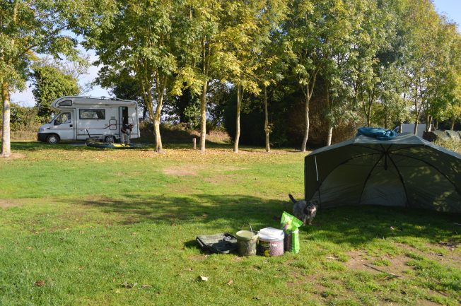 A very spacious pitch at Etang Neuf