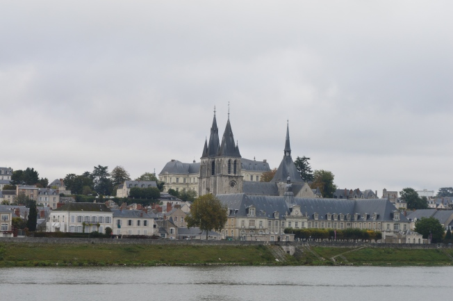 Driving past Blois