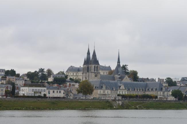 Driving past Blois