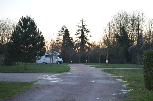 Motorhome aire at Broglie