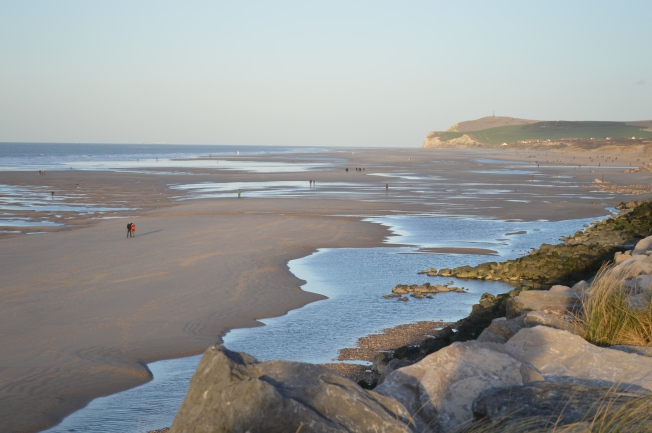 Glorious Wissant Beach, even in early January