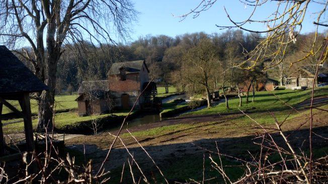 Water mill at Broglie