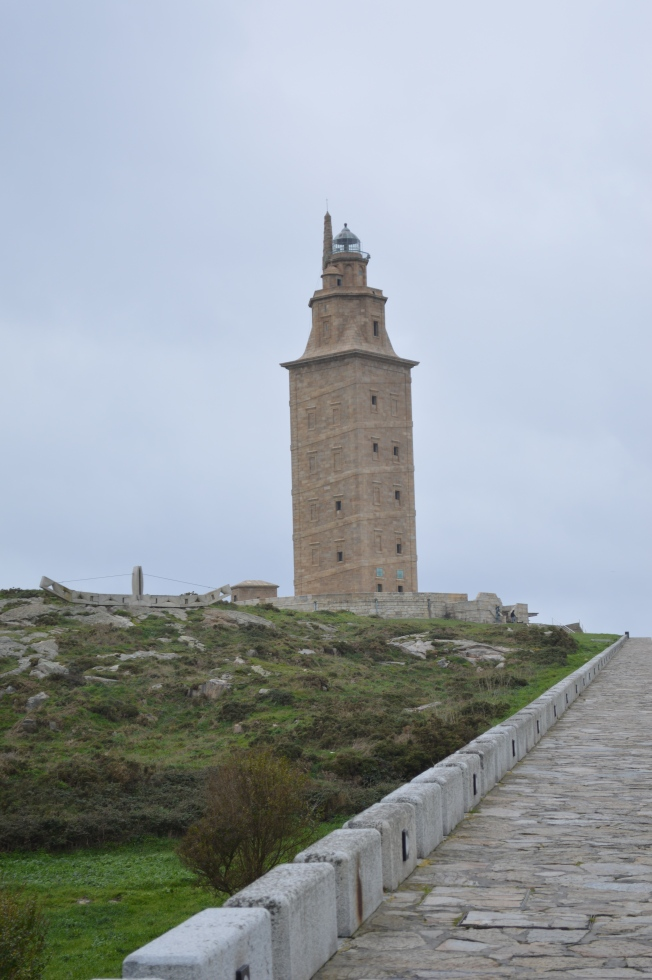 La Torre the Hercules, the town's symbol and a UNESCO World Heritage site
