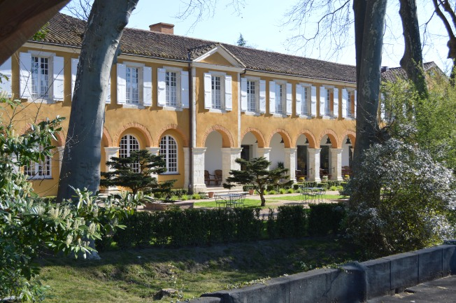 Barbotan-les-Thermes Spa Hotel and gardens