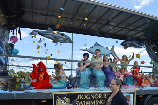 My favourite float: Bognor Regis Swimming Club and The Little Mermaid theme