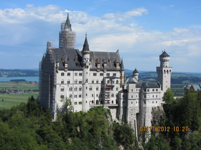 Schloss Neuschwanstein, the stuff fantasy is made of
