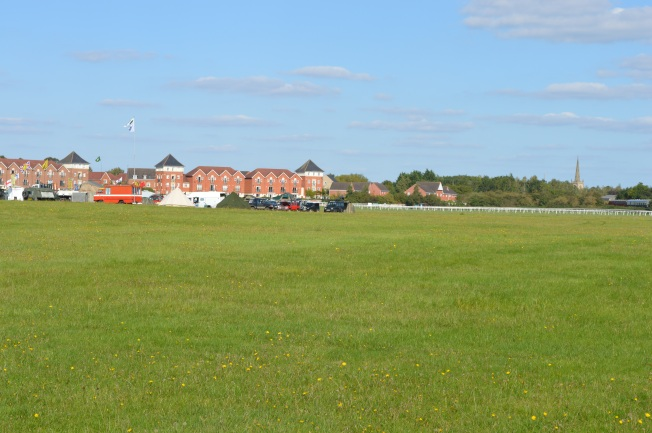 View of town from show grounds