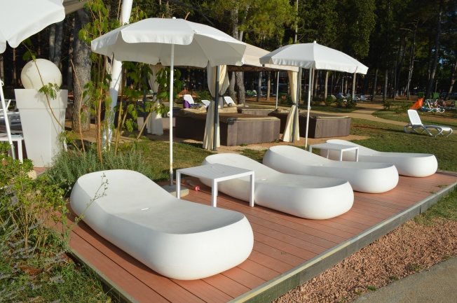 How about a nap on one of these beds at one of the beach bars?