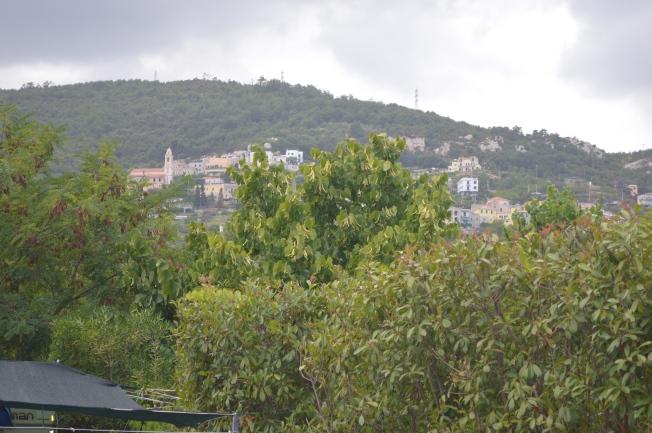 Pietra Ligure viewed from Campeggio die Fiore