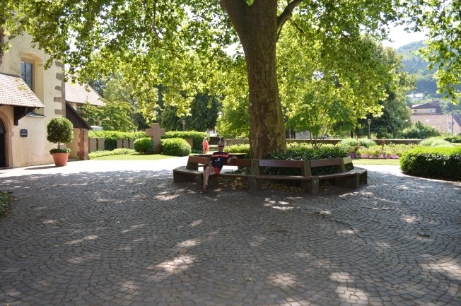 Park and Gardens by Stellplatz at Hashlach