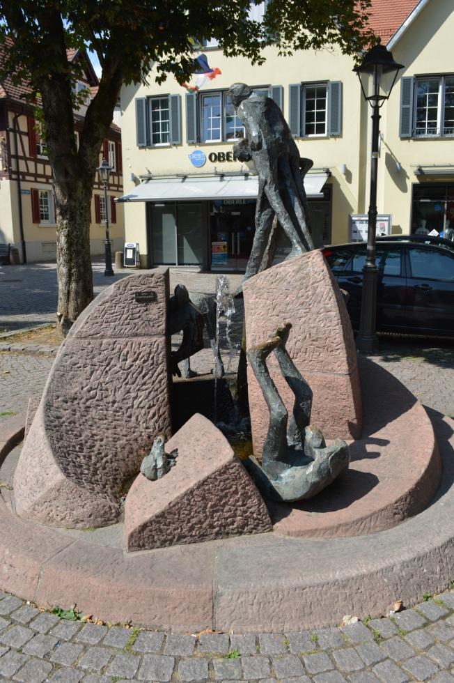 Humourous sculpture