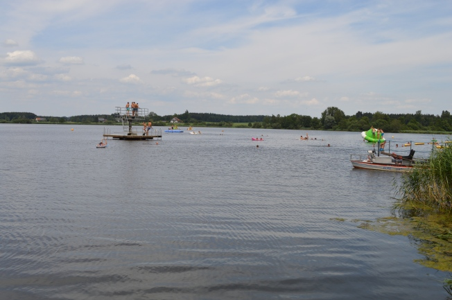 Lake at Kißlegg with lots of activities for all the family