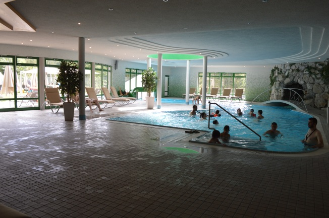 The fantastic indoor pool