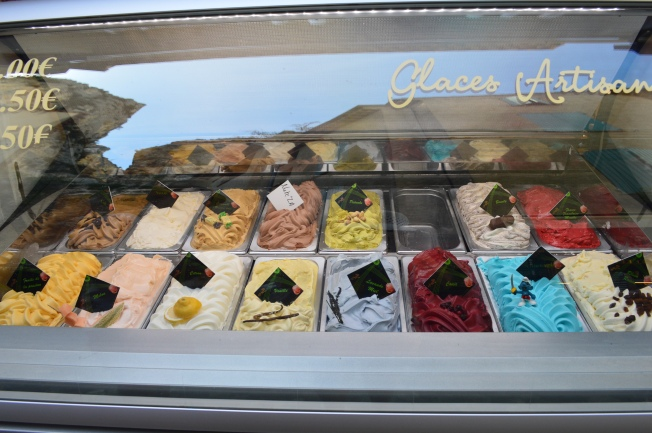 Mouth watering artisan ice-cream - I had passion fruit!