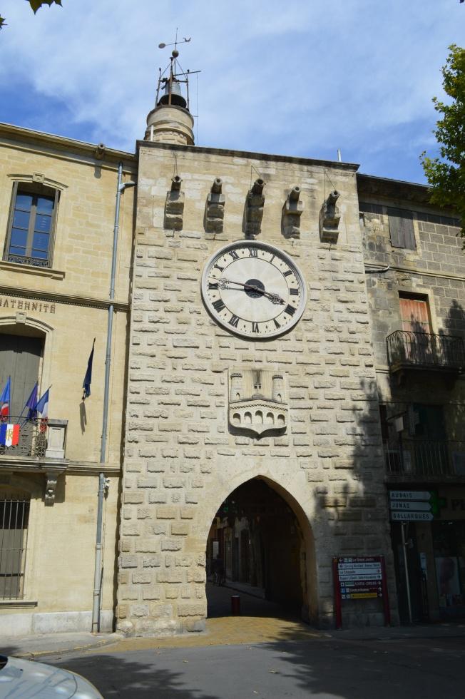 The Tour de l'Horloge at end of bridge