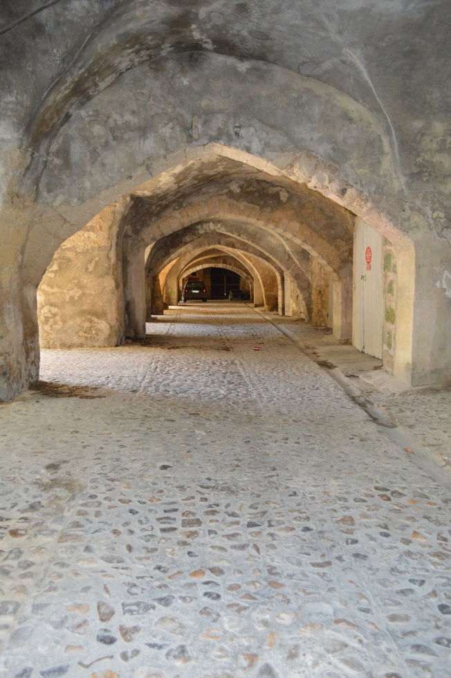 Medieval vaulted passages in Sommières