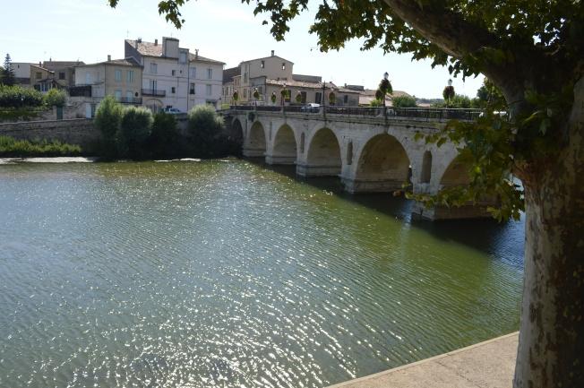 The First Century Roman Bridge in Sommières