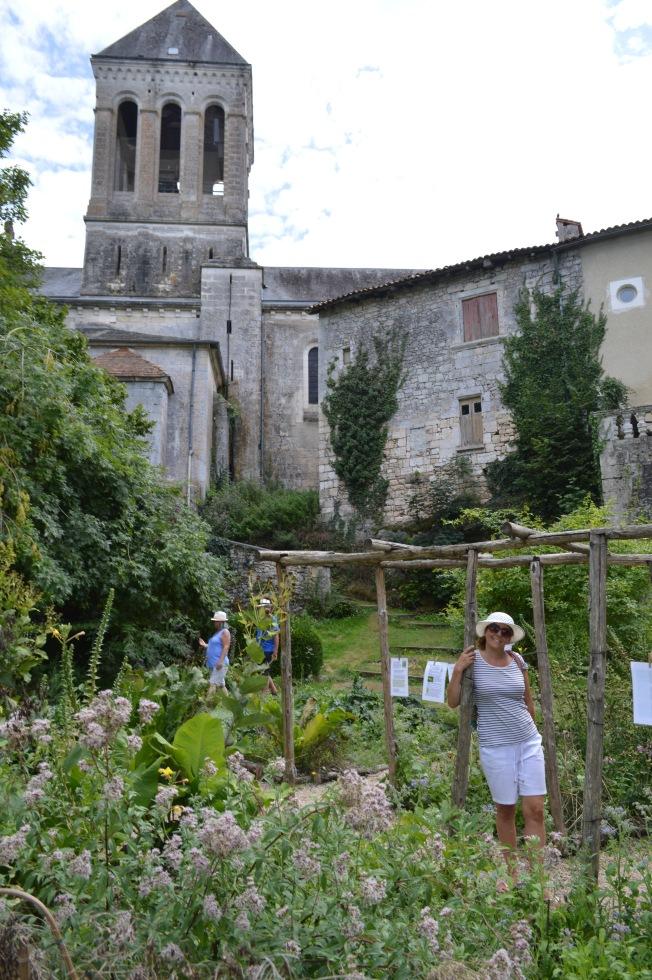 Medieval Gardens at Bourdeilles Château