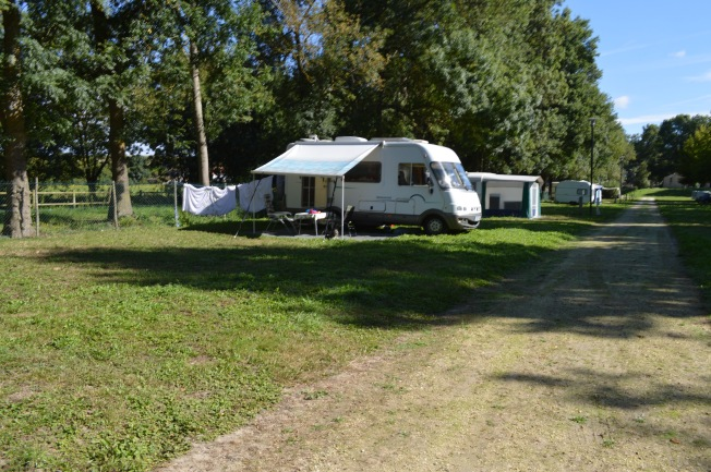 The peaceful Municipal Camping of La Fontaine du Pre St Jean at Dompierre-sur-Charente