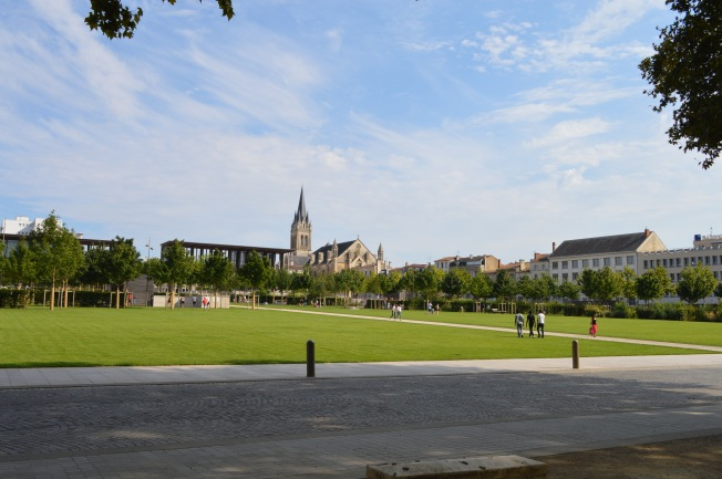 The Esplanade du Jardin de la Brèche in N