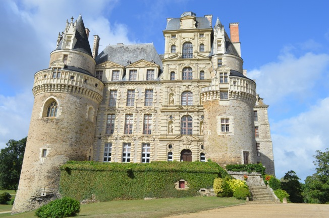 The impressive Château de Brissac
