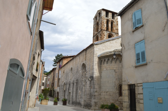 The medieval village of Castellane