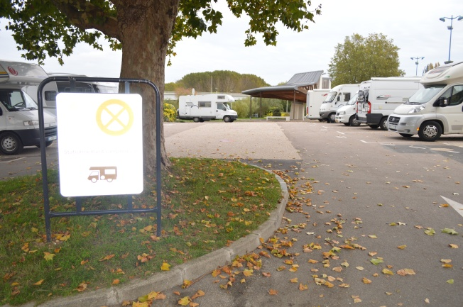 New grounds for the Motorhome aire at Pont de l'Arche