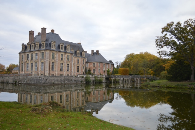 The view of the Château from the park