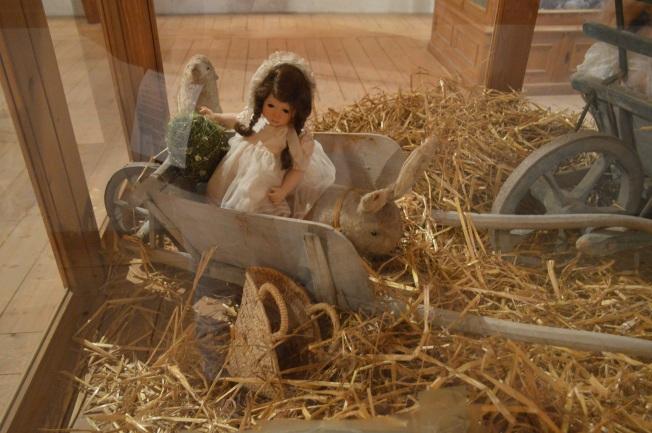 Dolls display at the Orangery