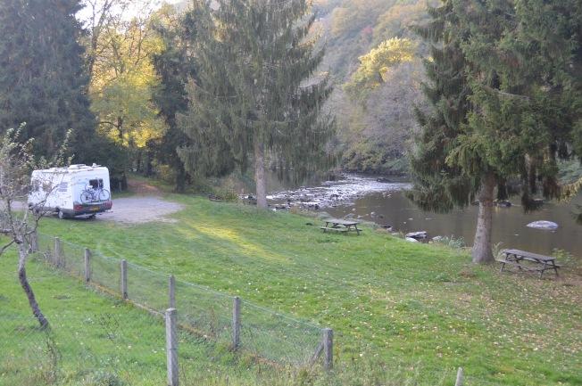 Wild camping at Gargilesse Dampierre