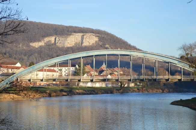 Baume-les-Dames and bridge