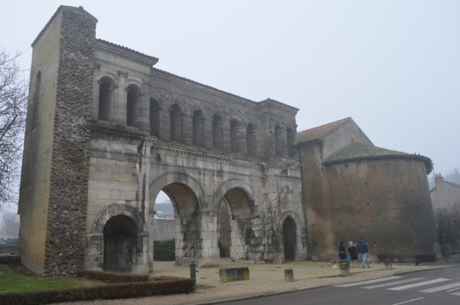 Roman gate at Autun
