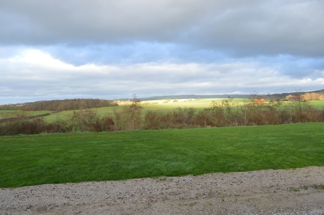 View from Ferme de l'Horloge, looking towards the sea